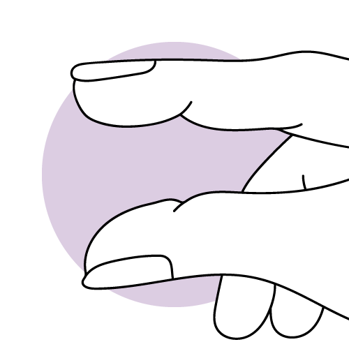 Grafische Darstellung des ausbleibenden Zervixschleims nach der Periode.